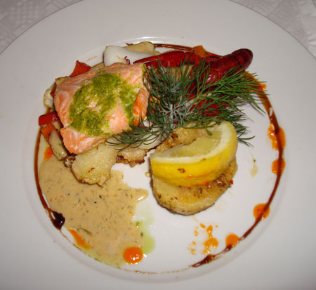 A nice dish from Mad Donna in Aalborg