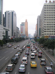 Shenzhen -  one of the many pictures I took with my digital camera